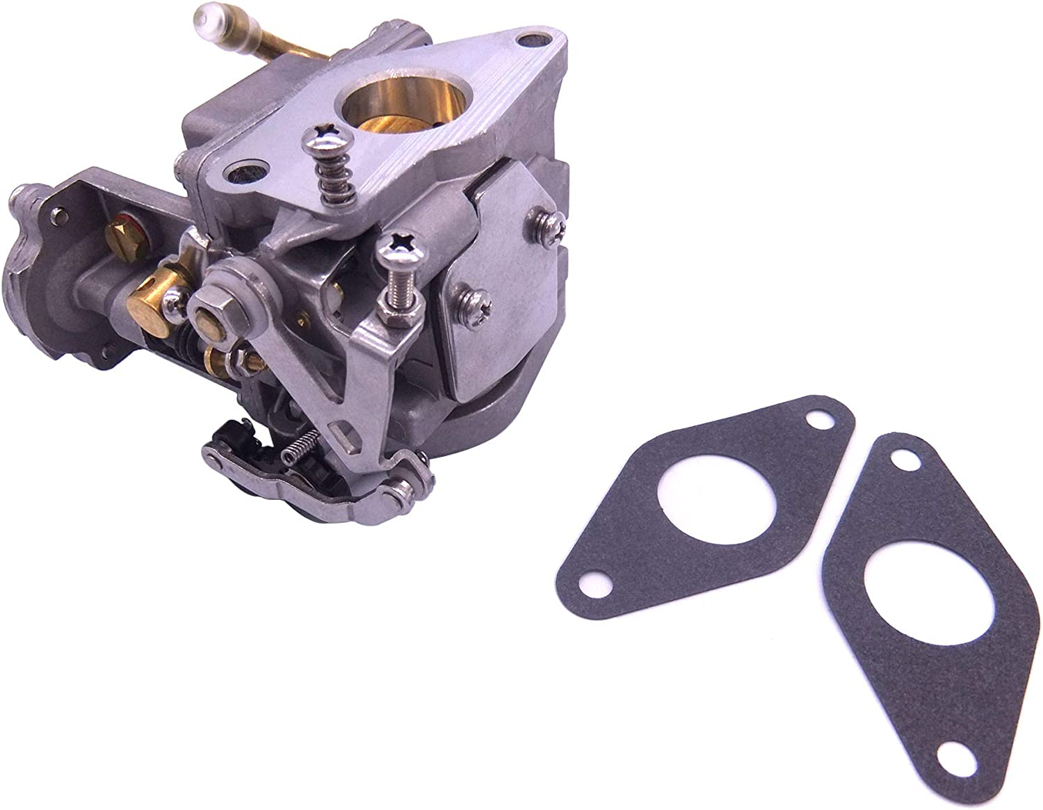 Boat Engine 3303-895110T01 3303-895110T11 8M0104462 Carburetor Assy and 27-835383001 Gaskets for Mercury Mariner 8HP 9.9HP 4-Stroke Outboard Motor