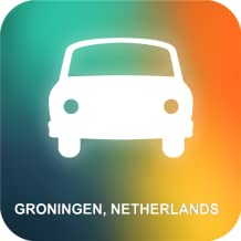 Groningen, Holanda GPS