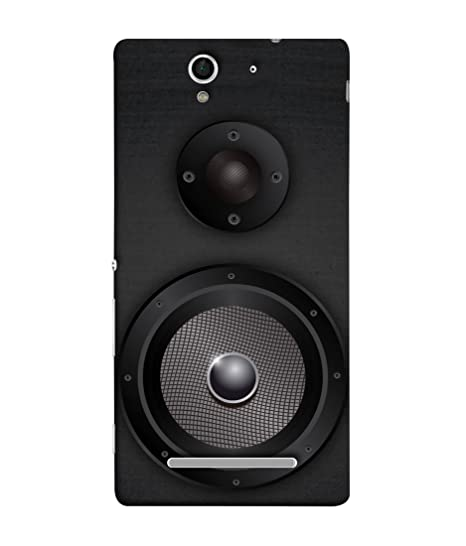 the latest 5bc58 6d81d Sony Xperia C3 Back Cover Black Grey Colour Music: Amazon.in ...