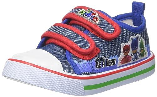 PJ Mask Niños S19855G/AZ Slip On Azul Size: 25 EU