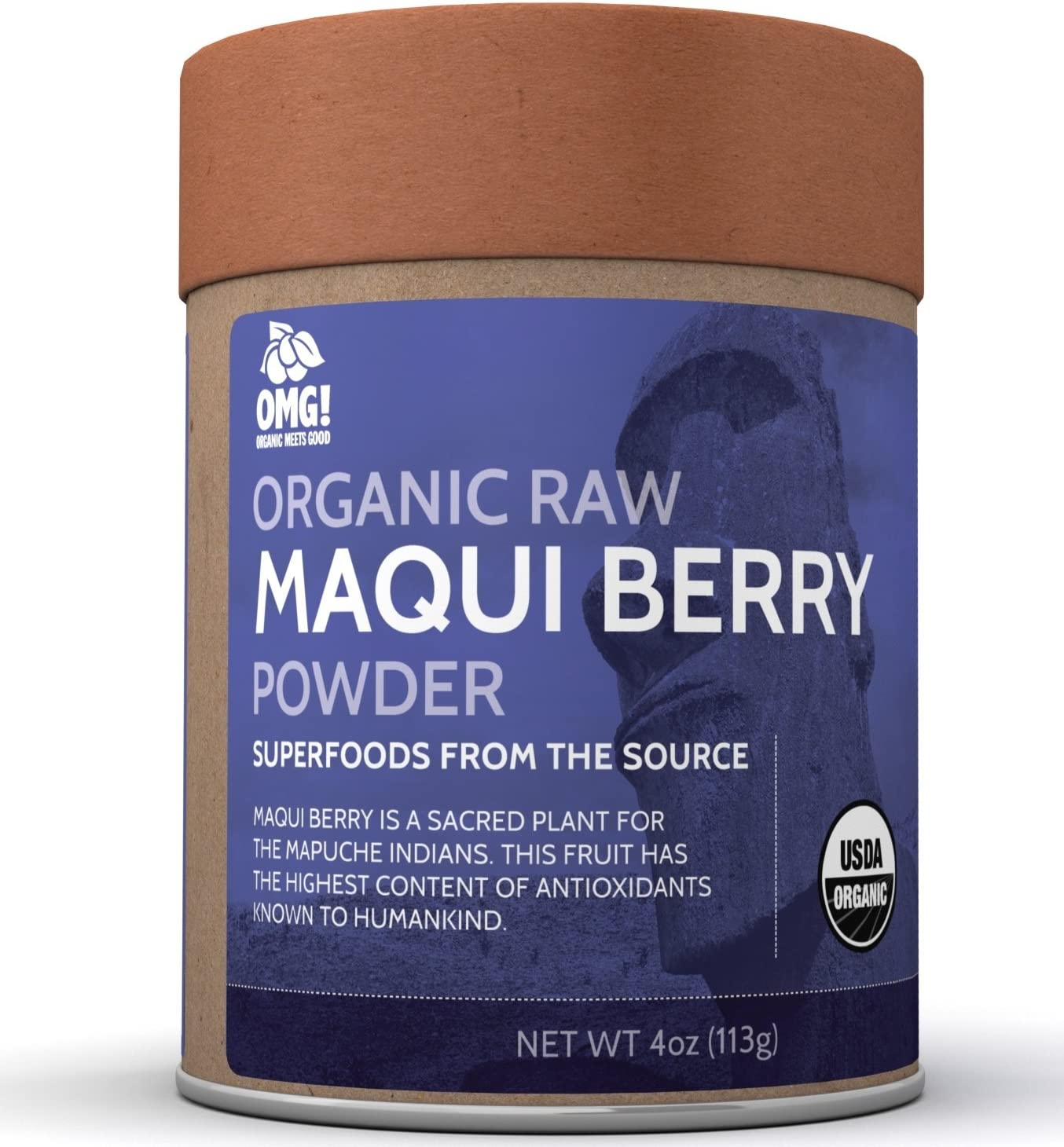 Amazon Com Omg Superfoods Organic Maqui Berry Powder 100 Pure