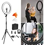 "Ring Light Kit:18"" 48cm Outer 55W 5500K Dimmable LED Ring Light, Light Stand, Carrying Bag for Camera,Smartphone,YouTube…"