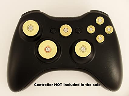 Xbox 360 controller full set of replacement brass bullet buttons d xbox 360 controller full set of replacement brass bullet buttons d pad guide solutioingenieria Image collections