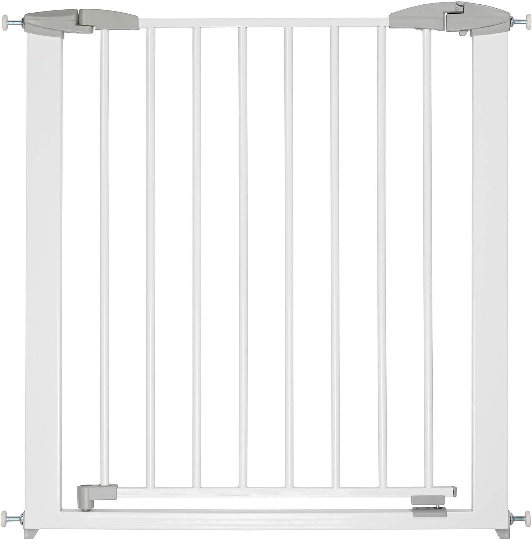 Sans per/çage 73-81,5 cm Porte ou escalier ib style/® YAEL Barri/ère de s/écurit/é Barri/ère de serrage