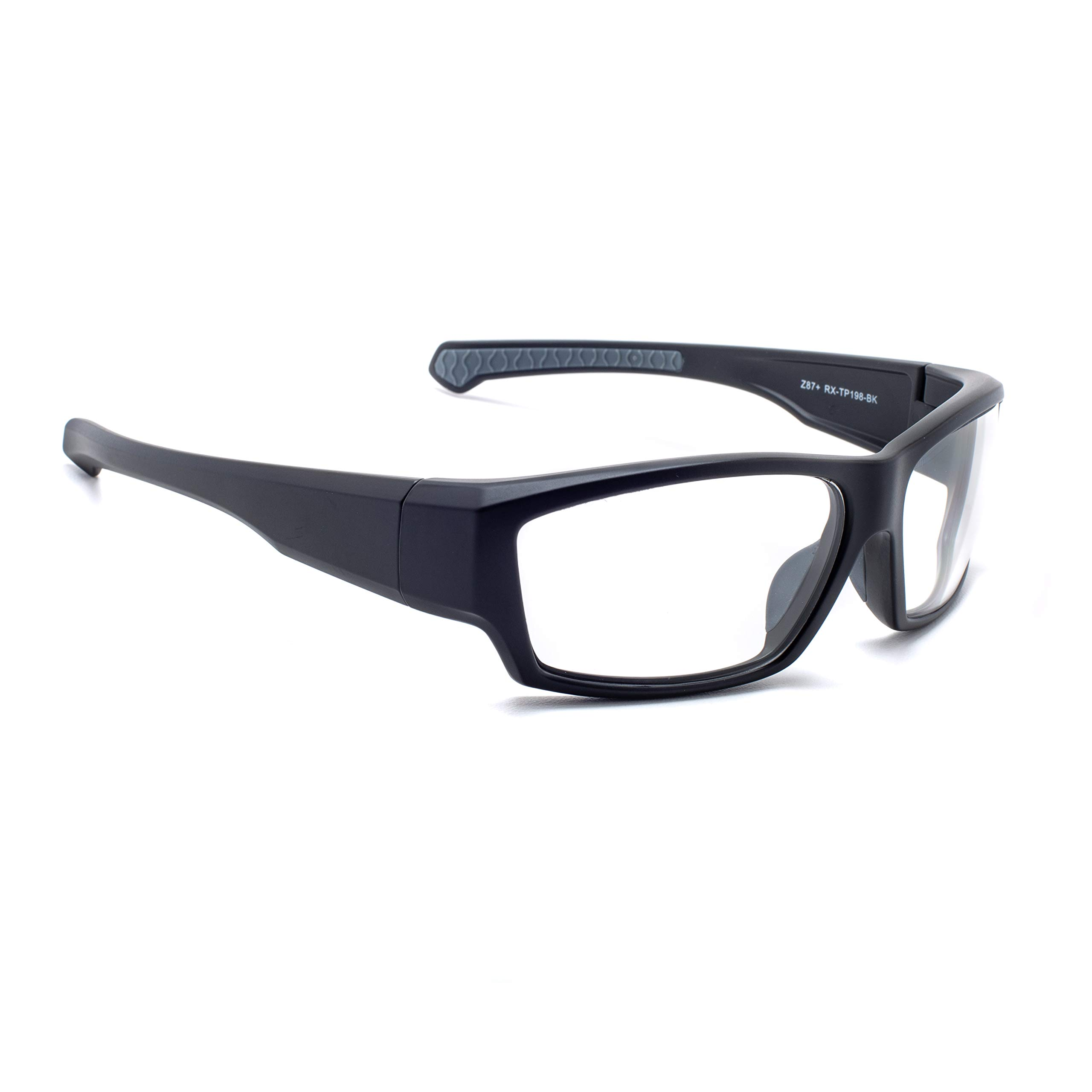 Leaded Glasses Radiation Protective Eyewear RG-TP198-BK by Phillips Safety Products, Inc