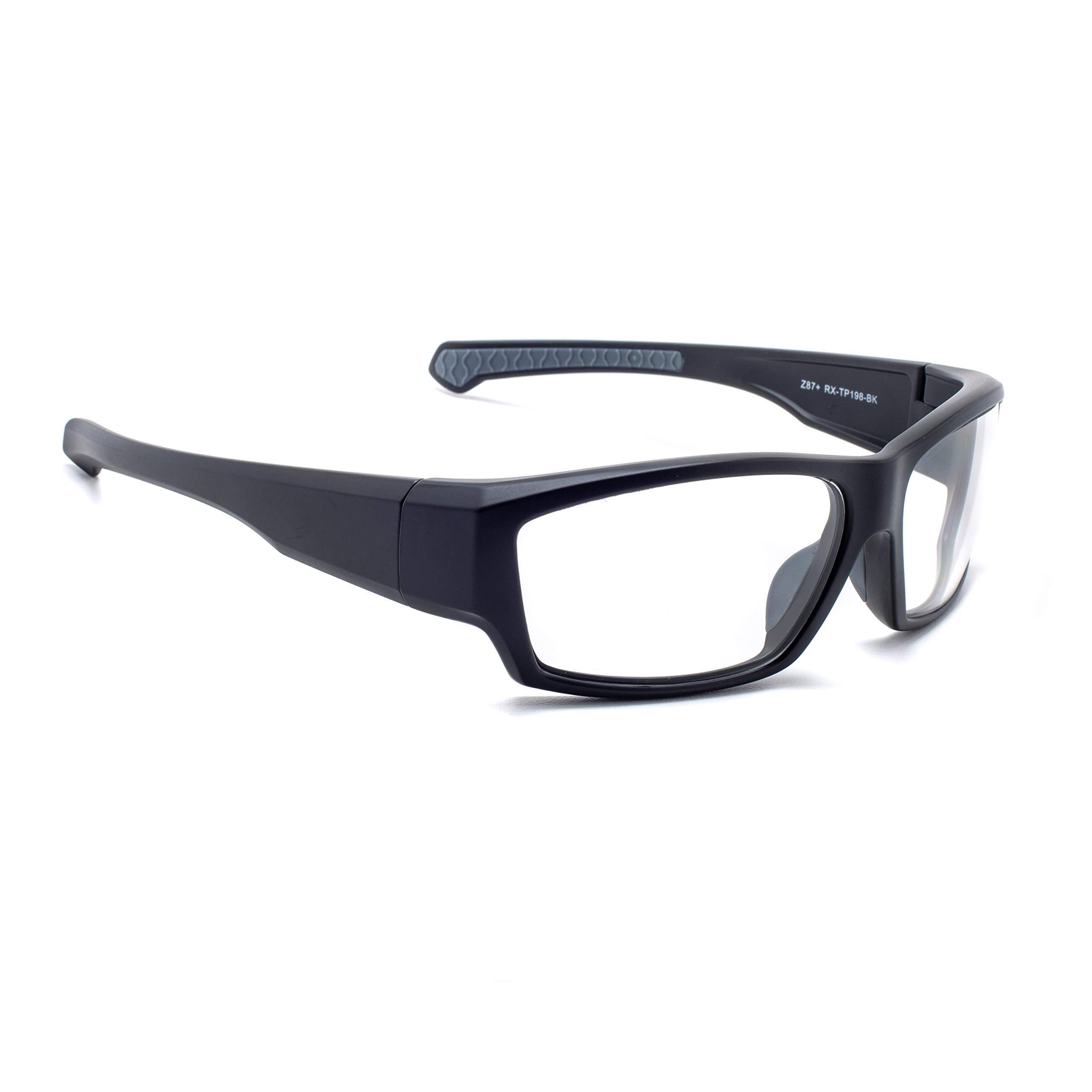 Leaded Glasses Radiation Protective Eyewear RG-TP198-BK