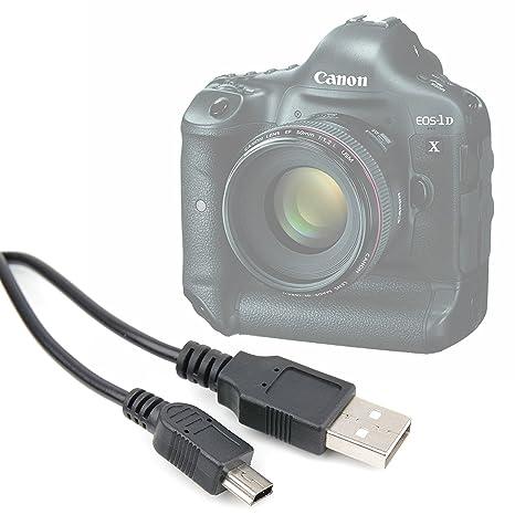 34781a423bc928 Agagadgets Câble USB d appareil photo numérique pour Canon EOS 1D X, 5DS R