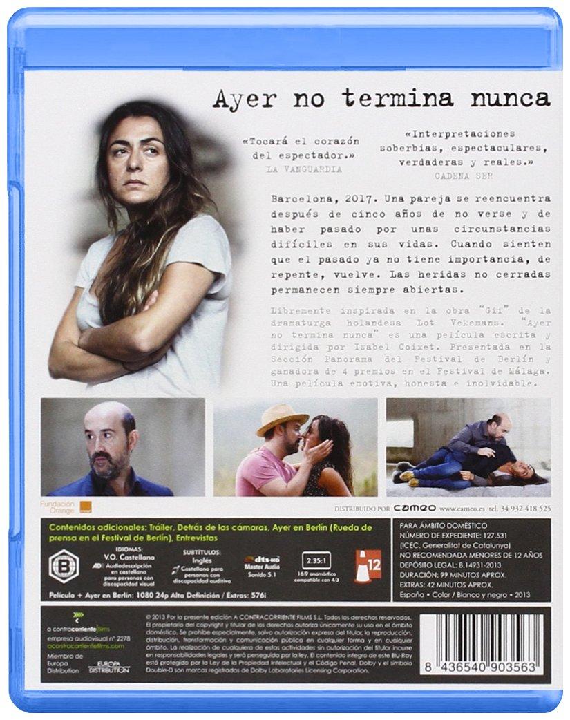 Ayer No Termina Nunca [Blu-ray]: Amazon.es: Javier Cámara, Candela Peña, Isabel Coixet, Javier Cámara, Candela Peña, Isabel Coixet: Cine y Series TV