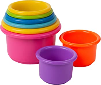 The First Years Stack Up Cups (Multi Color)