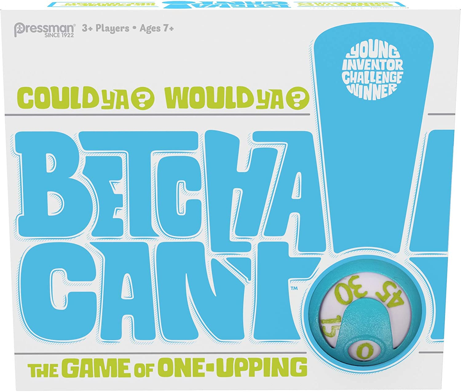 Pressman Betcha Can't Card Game - The Fast-Paced Game of One-Upping