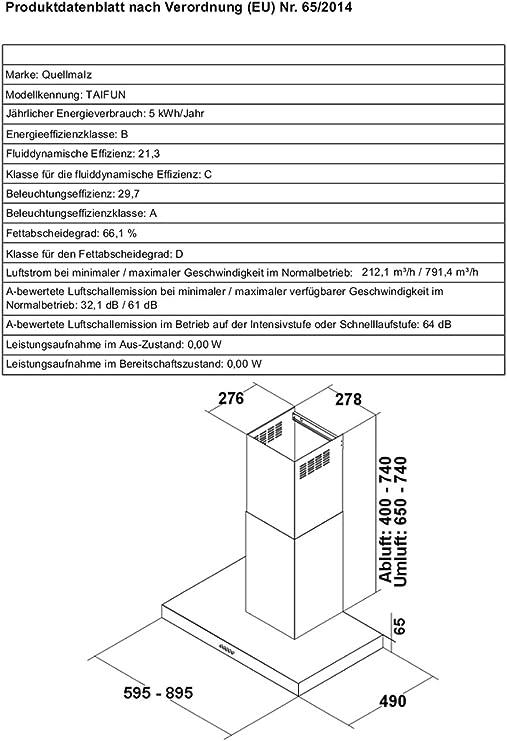 Campana extractora de acero inoxidable 60 cm de altura regulable con chimenea de campana extractora de botones a presión circuito de 3 niveles de ventilación ventilador convertible en cocina: Amazon.es: Grandes electrodomésticos