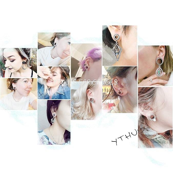 Amazon.com: YTHUIS - Juego de dilatadores de oreja de gato y ...