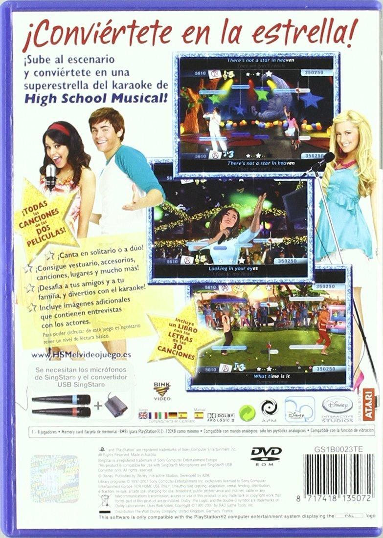 Amazon.com: High School Musical Sing It no Microphones /PS2 ...