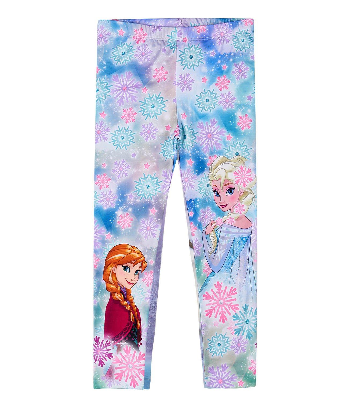 Disney Frozen - Il regno di ghiaccio Ragazze Leggings - Azzurro