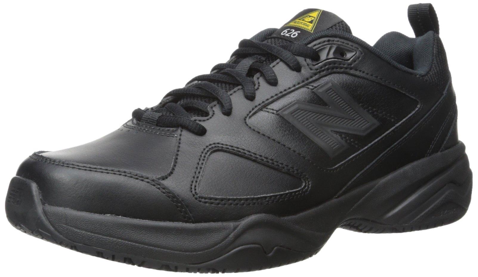 New Balance Men's MID626v2 Work Training Shoe,  Black, 10 M US by New Balance