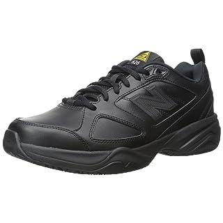 New Balance Men's Slip Resistant 626 V2 Industrial Shoe, Black, 9 M US