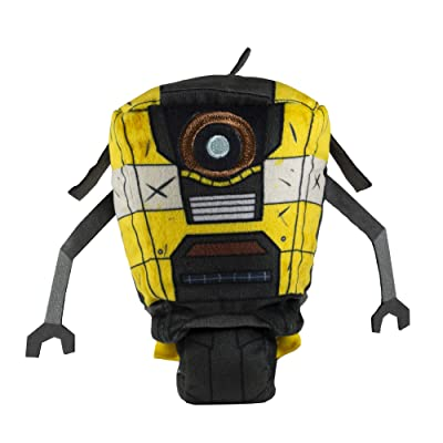 "Stubbins Plush 6"" Claptrap Borderlands - Not Machine Specific: Video Games"