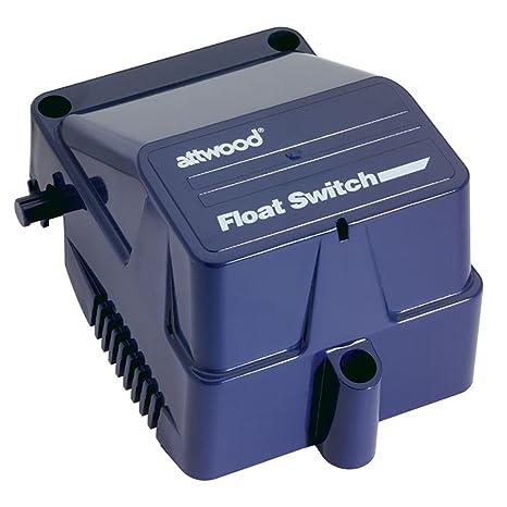 attwood 4201-7 Interruptor Automático con Flotador, 12-24V, 67 mm x
