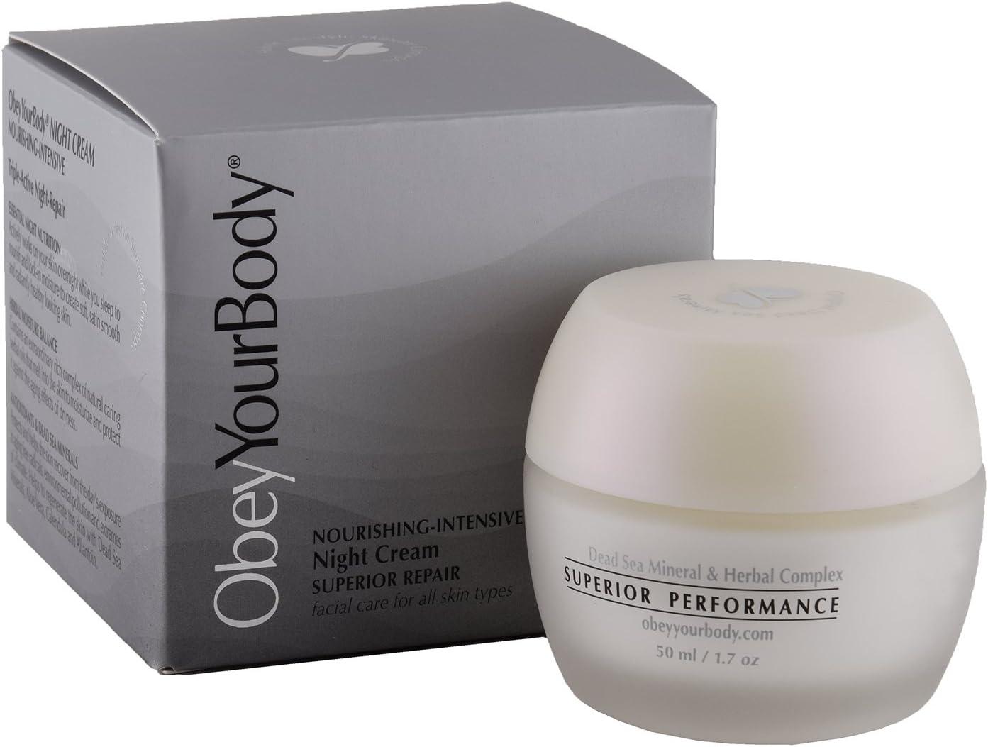 OBEY Your Body Minero AUX Noche Crema Noche Crema Night Cream 50 ...