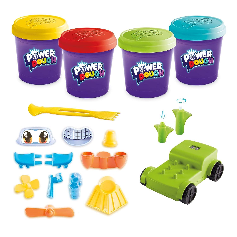 20 Piece Canal Toys USA Ltd Power Dough Vehicles Large Box Interactive Dough
