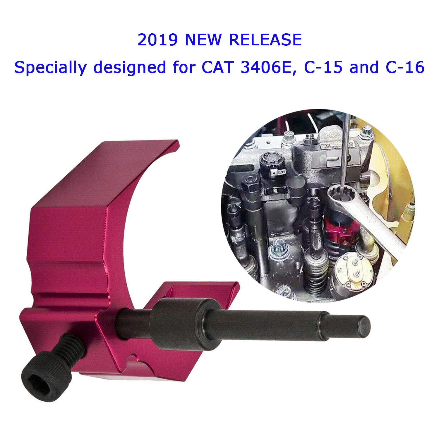 C-15 and C-16 Injector Height Tool for Caterpiller 3406E Alternative to 9U-7227 CAT Valve Timing Tool