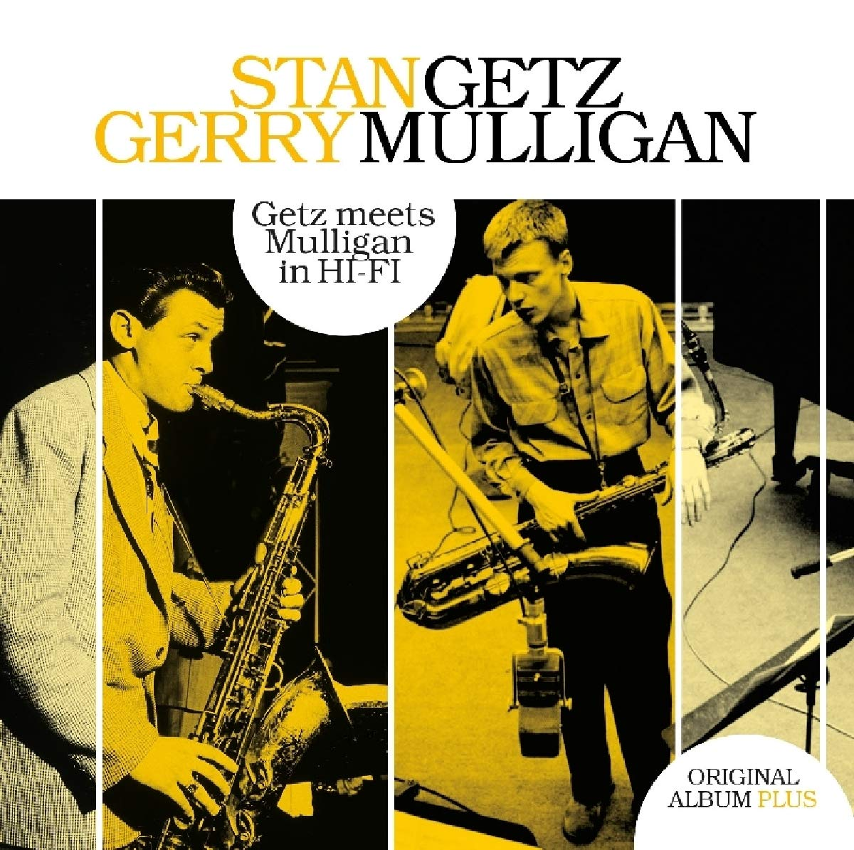 CD : GETZ, STAN / MULLIGAN, GERRY - Getz Meets Mulligan In Hi-fi (Holland - Import)