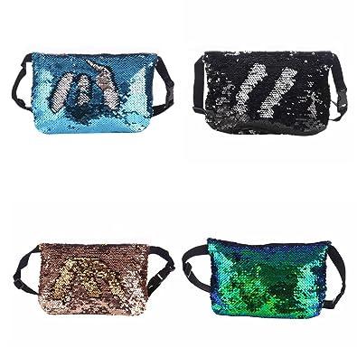 Amazon.com: Bduco - Bolsa de lentejuelas reversible, bolsa ...