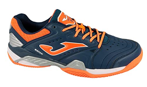 JOMA Match, Zapatillas de Tenis para Hombre, Azul (Navy), 44 EU