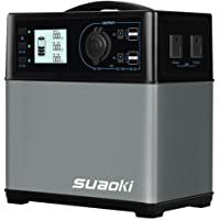 SUAOKI - 400Wh/120,000mAh Generador Portátil Solar, Almacenamiento Suministro