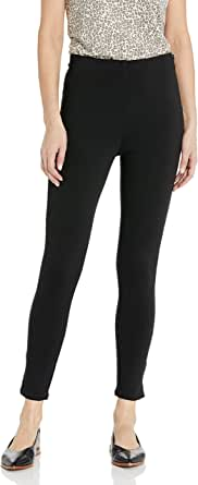 Daily Ritual Ponte Side-Zip Ankle Pant Mujer
