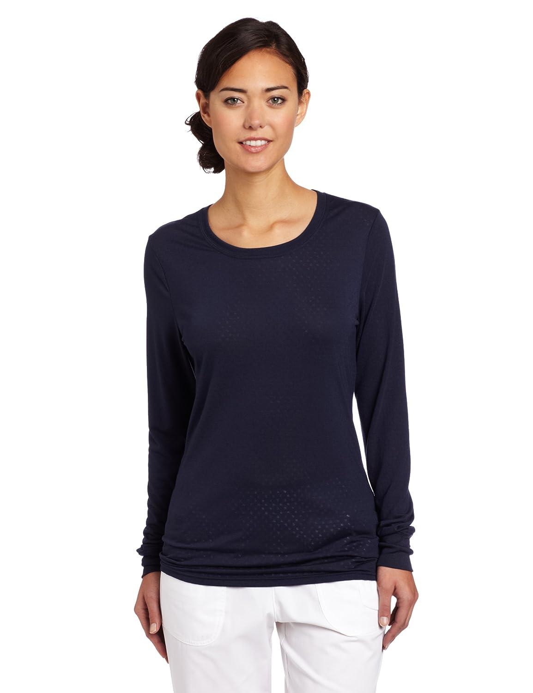 Carhartt Womens Long Sleeve Burnout Jersey Tee Carhartt Women' s Scrubs C30109A