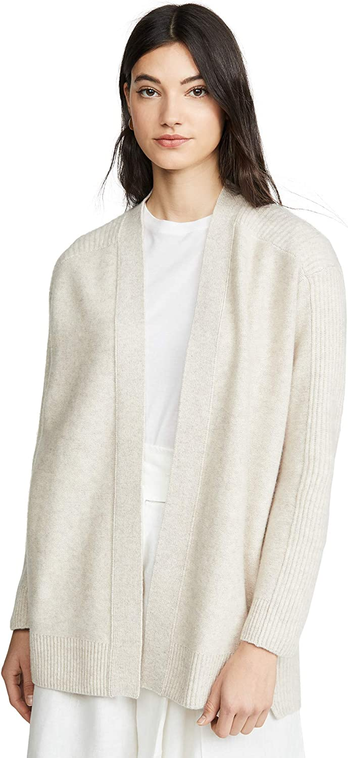 Vince Women's Ribbed Back Cardigan at Amazon Women's