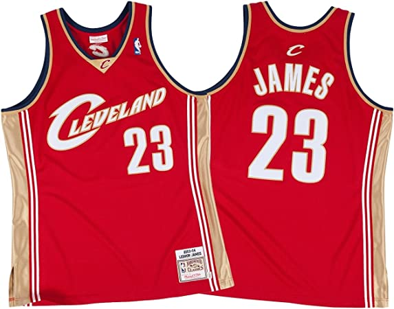 Mitchell & Ness LeBron James Cleveland Cavaliers 2003 – 04 Authentic NBA Camiseta