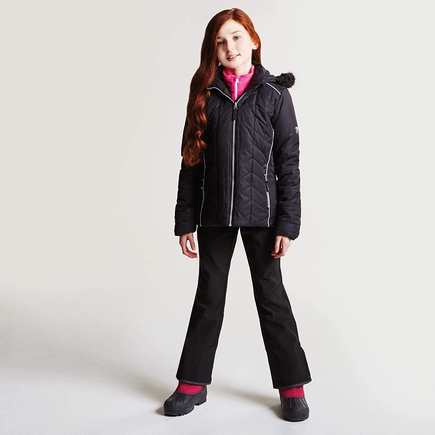 b94523d84499 Dare 2b Children s Prodigal and Breathable Girls Ski Waterproof ...
