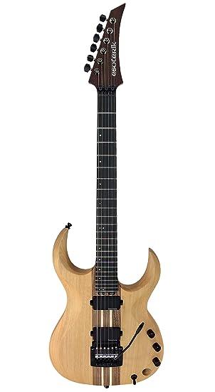 Guitarras, esoterismo DR3 guitarra eléctrica, acabado natural: Amazon.es: Instrumentos musicales