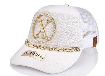 Xtress Exclusive Gorra Blanca de Diseño para Hombre y Mujer.: Amazon.es: Deportes y aire libre