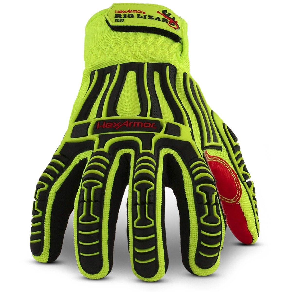 HexArmor Rig Lizard 2020 Firm Grip Impact Work Gloves 3X-Large