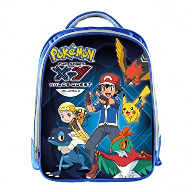 Anime Pokemon Backpack Pikacun Students School Bags Boys Girls Daily Backpacks  Children Bag Kids Schoolbags Best Gift Backpack 13 CWJL09L  Amazon.co.uk   ... 53ce528f8db81
