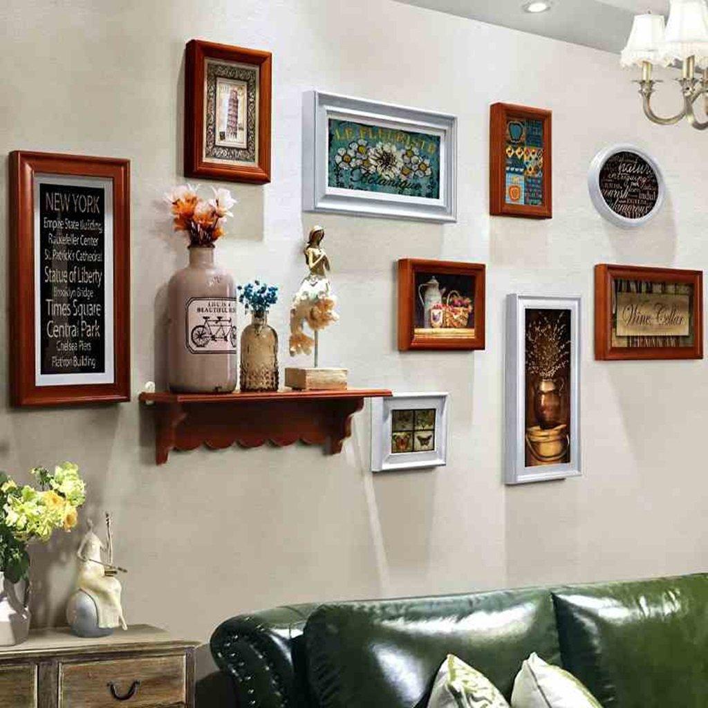 Bilderrahmen Fotowand Esszimmer Wohnzimmer Rack Wand Gang ...