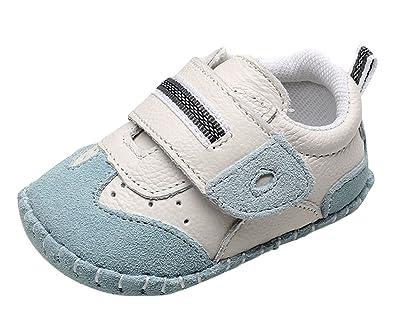 31c788dbf3d9f Cloud Kids Chaussures Bébé en Cuir Souple Premier Pas Chausson Cuir Bébé  Fille Chaussure Bébé Garçon