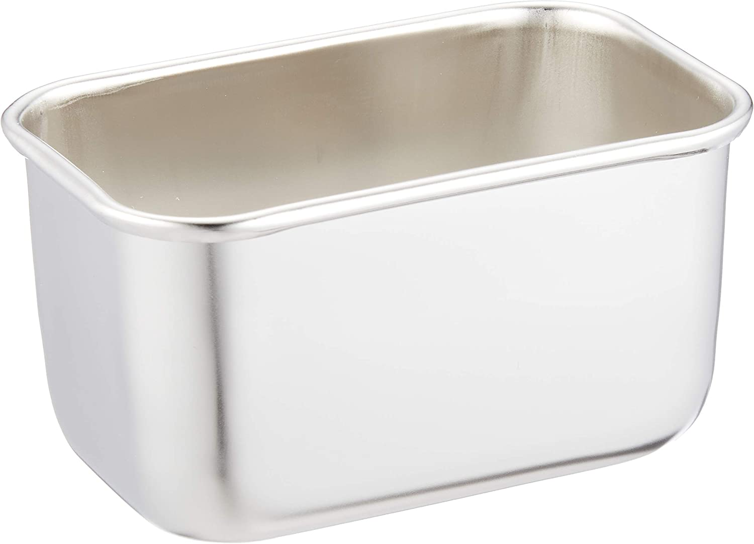 Stainless Steel Deep Dish Food Storage Container No. 00