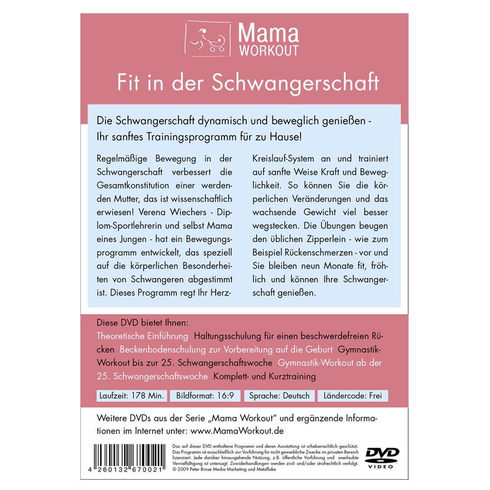 7078cfa218f1e8 MamaWorkout - Fit in der Schwangerschaft ++ Das Standardwerk von Expertin  Verena Wiechers ++ rezensiert vom Hebammenforum!  Amazon.de  Verena  Wiechers