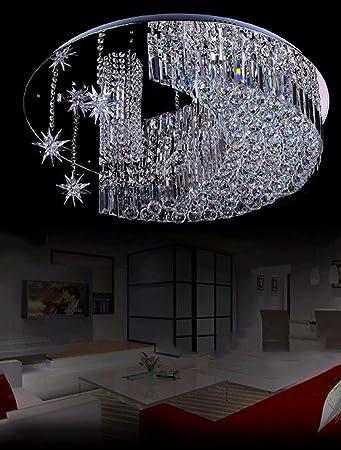 Moderne K9 Kristall Regentropfen Kronleuchter Beleuchtung, Kristall Kronleuchter  Schlafzimmer Restaurant Kristall Lampe, Runde