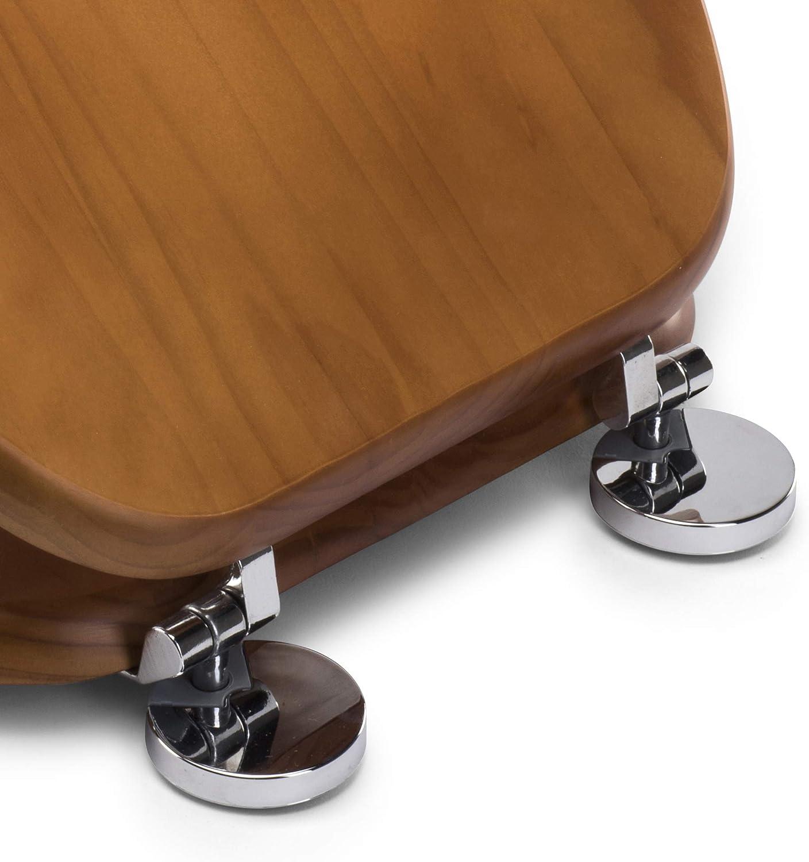 Croydex Abattant WC en bois Pin Antique