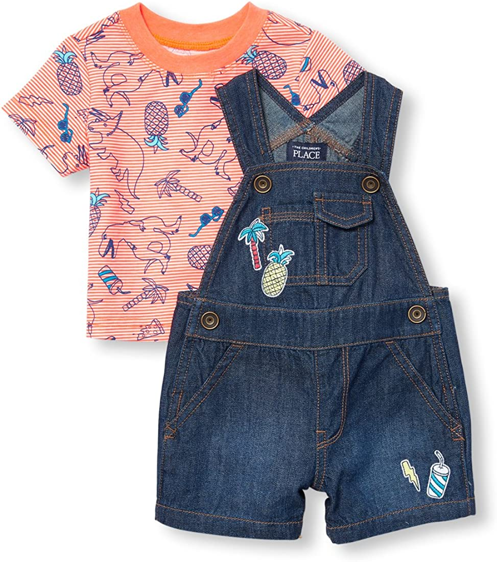 Amazon.com: The Children's Place Boys' Baby Overalls: Clothing