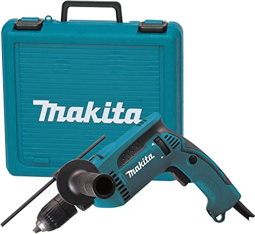 Makita, HP1641K, Hammer Drill Kit, 5 8 , 6.0A, 0-44, 800bpm