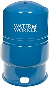 WaterWorker 80913 86Gal Vertical Well Tank, 86-Gallon, Blue