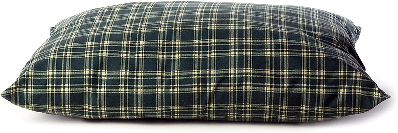 Carolina Pet Shebang Indoor Outdoor Bed For Pets Large Green Plaid Pet Beds Pet Supplies