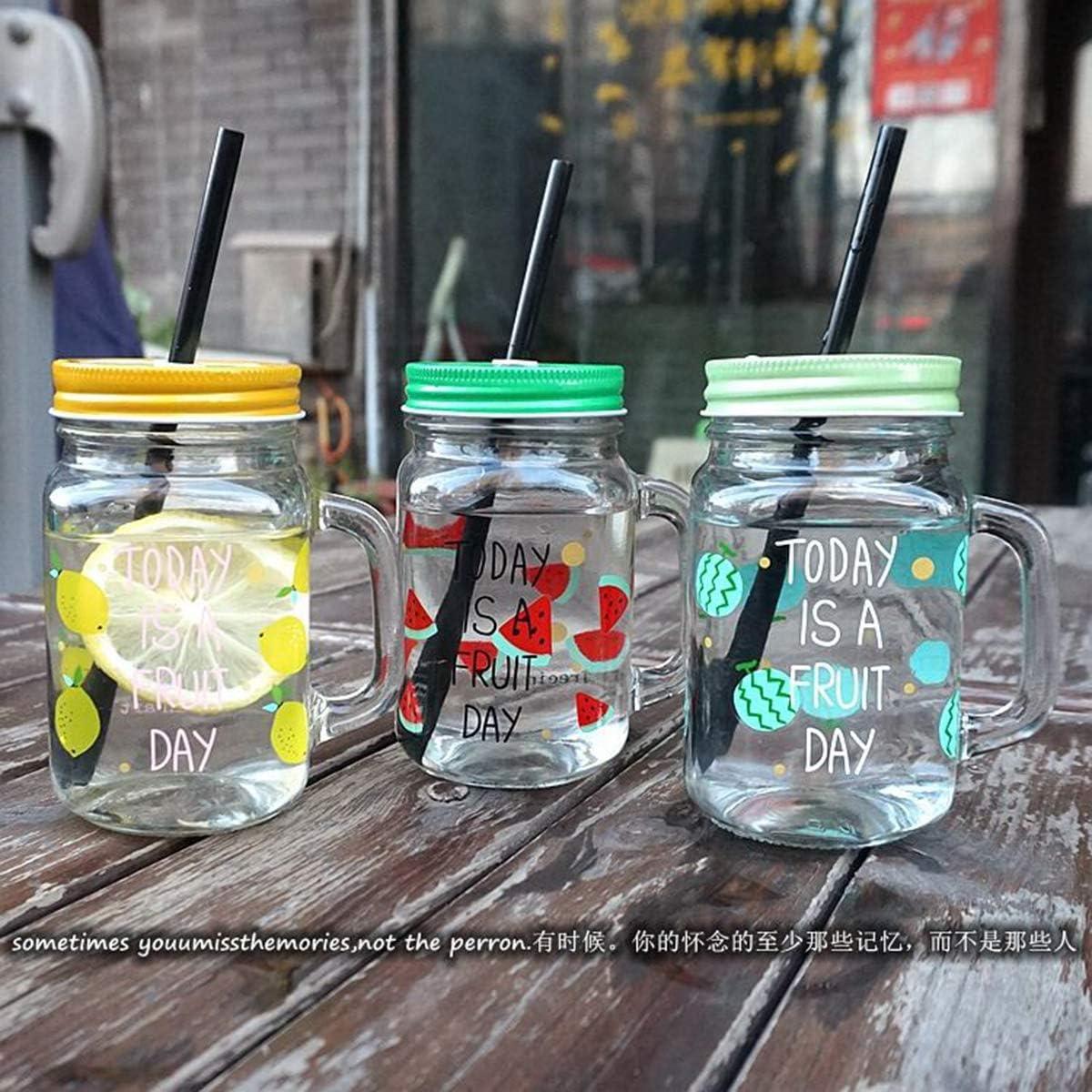 M/étal Dancepandas Couvercle Mason Jar Paille 28PCS Couvercle Pot en Verre Reutilisable 70mm Couvercle de Rechange Mason Jar Lids Avec 28 Pailles Multicolore