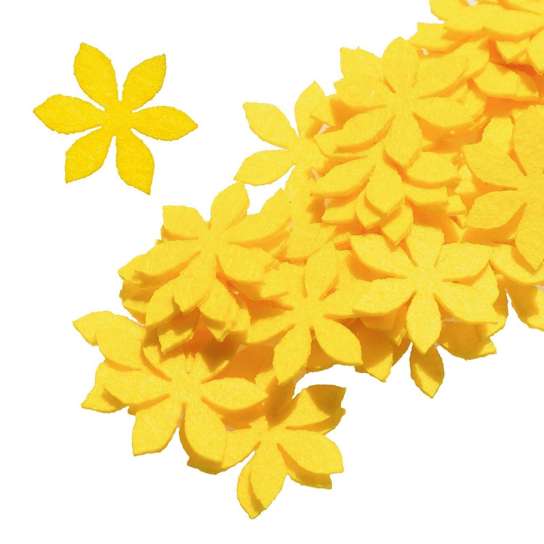 maDDma ® 50 Filz Blüten, Streudeko, Tischdeko, in Verschiedenen ... 96a0c29075